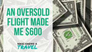 Being on an Oversold Flight Made Me $600